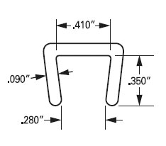 J644 Low Density Polyethylene PE Channel Specs
