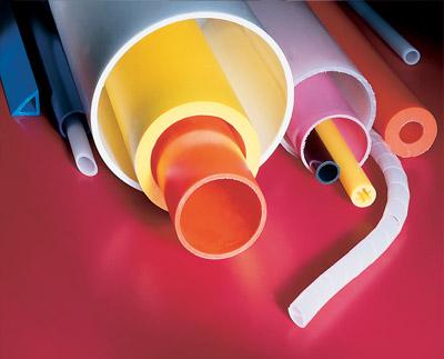 Multicolored PE, PP, Nylon Tubing Custom Plastic Tubing Extrusion