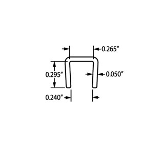 1/4″ Channel J-834 PC Angle & Channel Specs