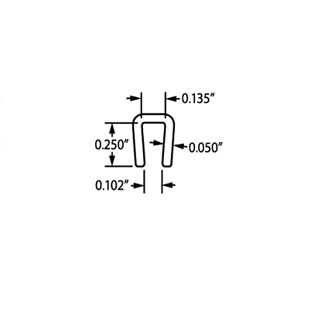 1/8″ Channel J-833 PC Angle & Channel Specs
